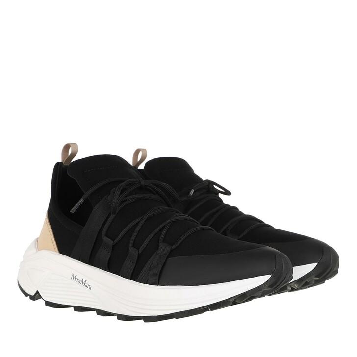 Schuh, Max Mara, Raissa Sneakers Black