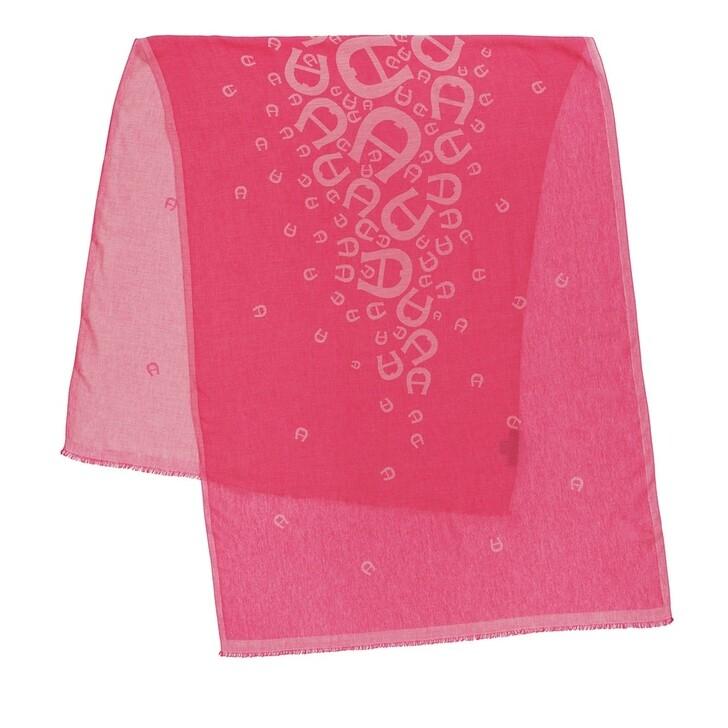Schal, AIGNER, Scarf Pink