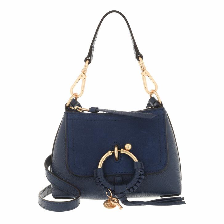 bags, See By Chloé, Joan Crossbody Bag Mini Royal Navy
