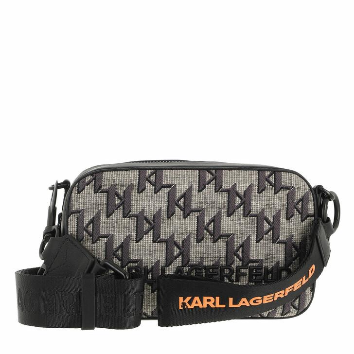 bags, Karl Lagerfeld, K/Monogram Jkrd Camera Bag Multi