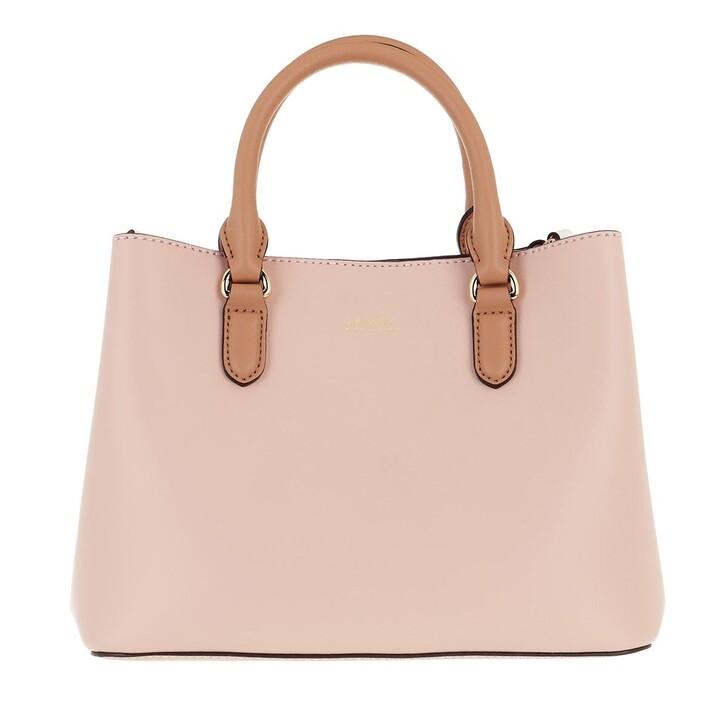 bags, Lauren Ralph Lauren, Marcy Ii Satchel Mini Ballet Pink/Nude/Vanilla