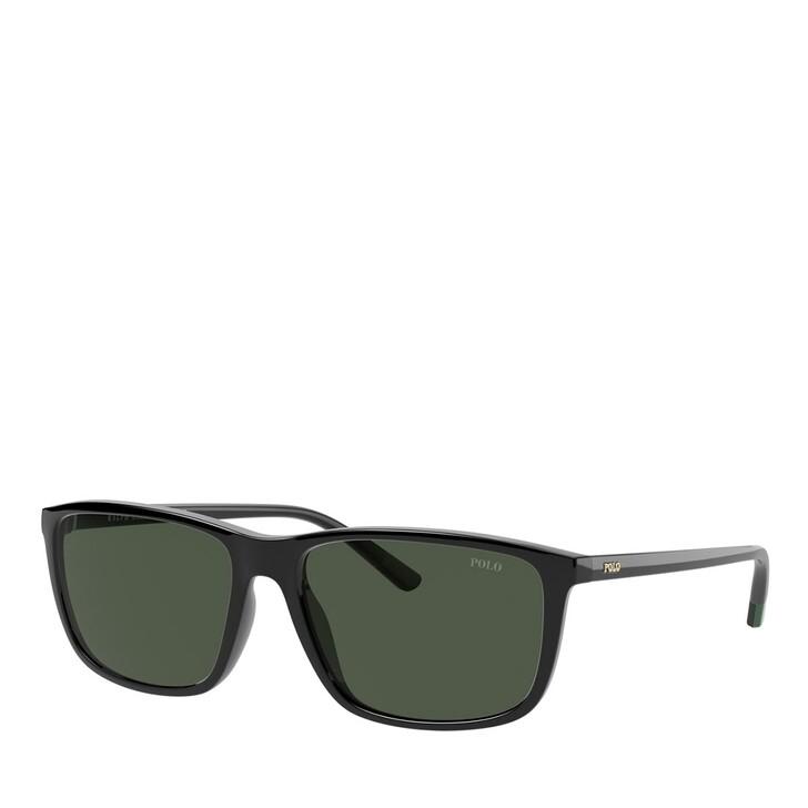 Sonnenbrille, Polo Ralph Lauren, 0PH4171 Shiny Black