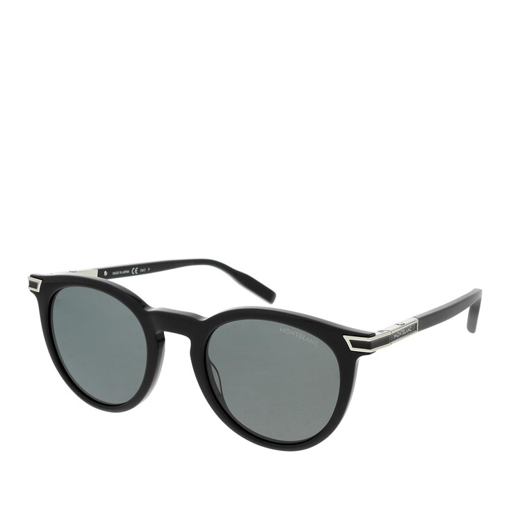 Sonnenbrille, Montblanc, MB0041S-005 50 Sunglass MAN ACETATE BLACK