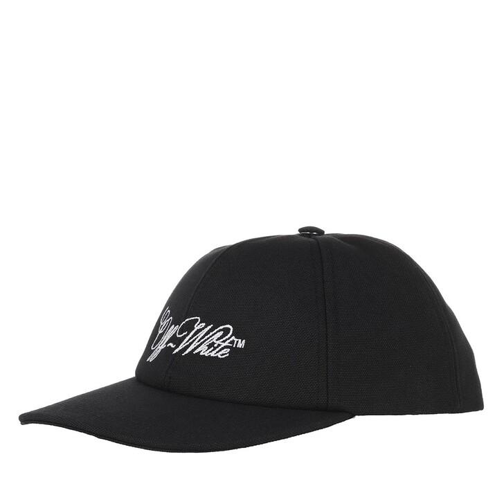 Schal, Off-White, Embroidered Logo Baseball Cap Black White