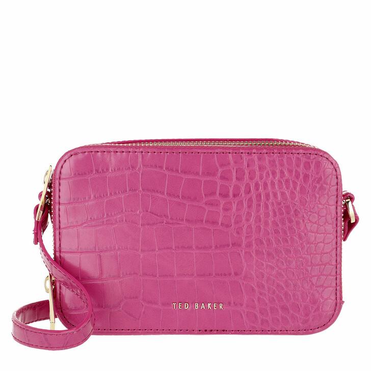 bags, Ted Baker, Stina Double Zip Mini Camera Bag Pink