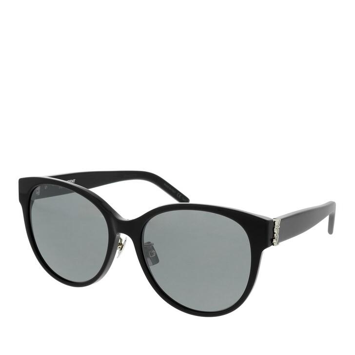 sunglasses, Saint Laurent, SL M39/K-002 57 Sunglass WOMAN ACETATE BLACK