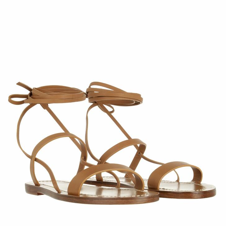 Schuh, Closed, Desert Sandals Vacchetta Natura Cognac
