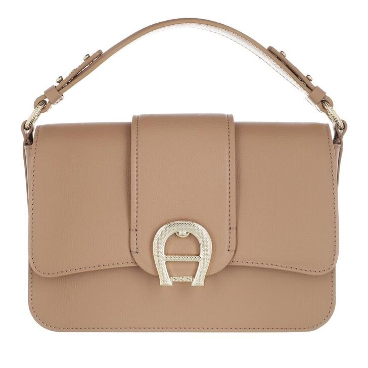 Handtasche, AIGNER, Verona Handle Bag Cashmere Beige