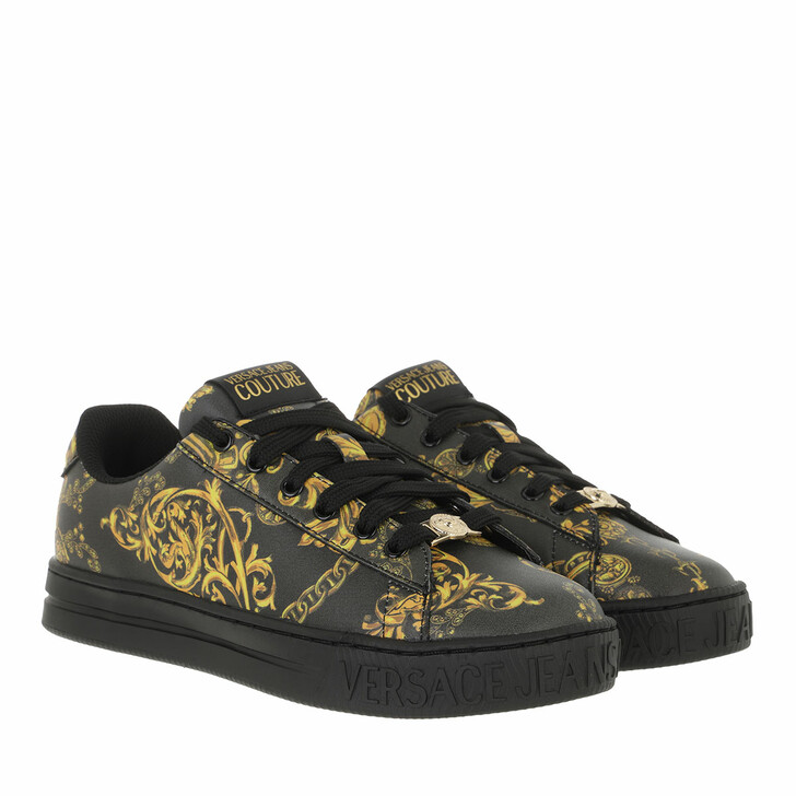 shoes, Versace Jeans Couture, Sneakers Shoes Black/Gold