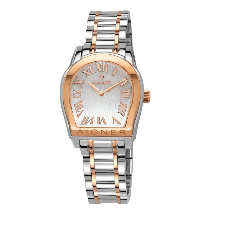 Uhr, AIGNER, MODENNA Watch Silver/Rose Gold