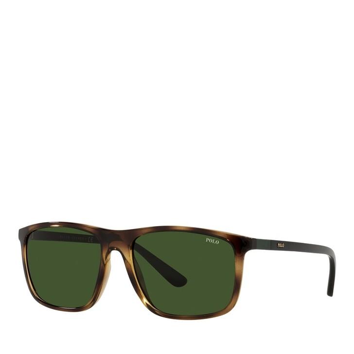 sunglasses, Polo Ralph Lauren, 0PH4175 Shiny Dark Havana