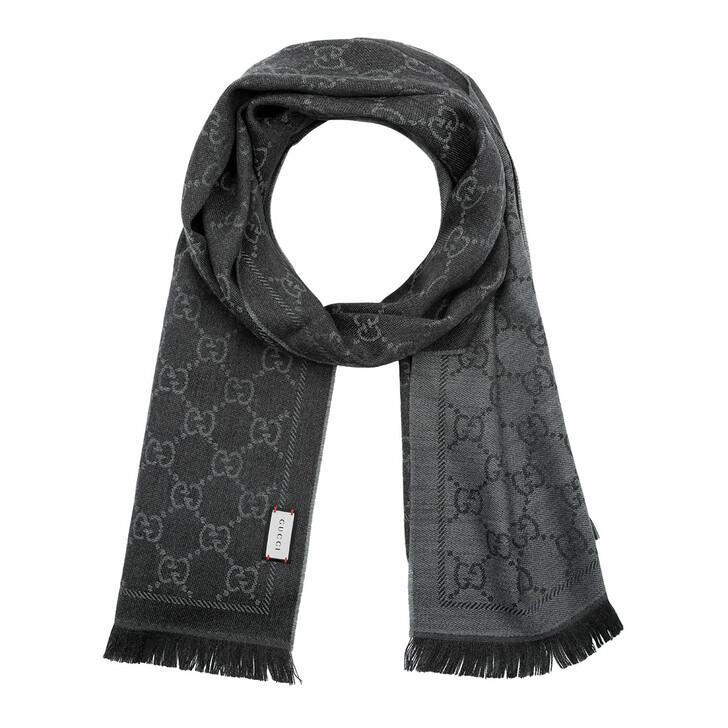 scarves, Gucci, Scarf Sten Anthracite