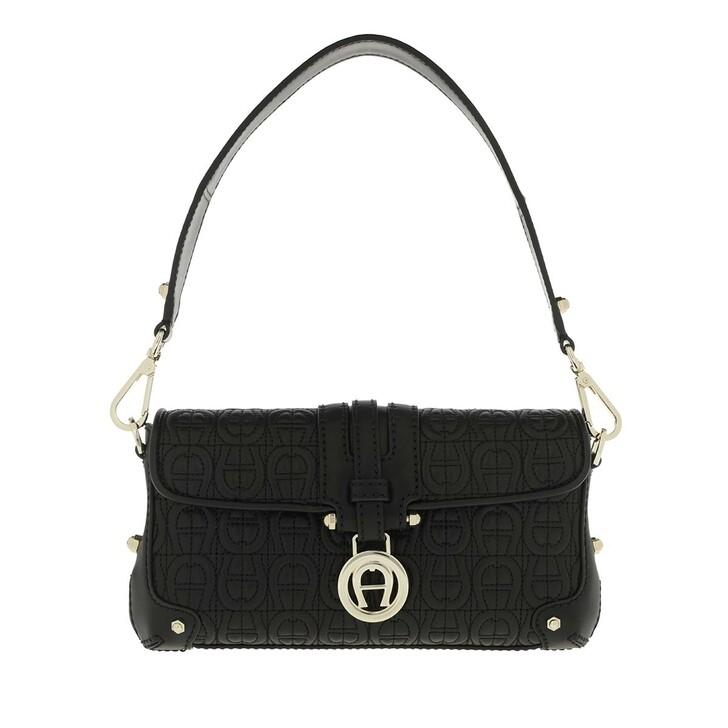 Handtasche, AIGNER, Lori XS Shoulder Bag Black