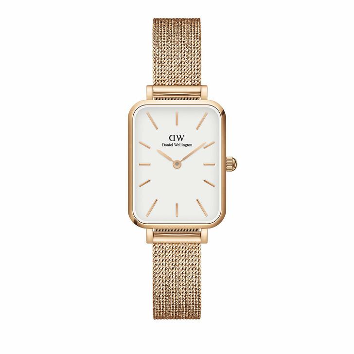 watches, Daniel Wellington, Watch Quadro 20X26 Pressed Melrose Rosegold White