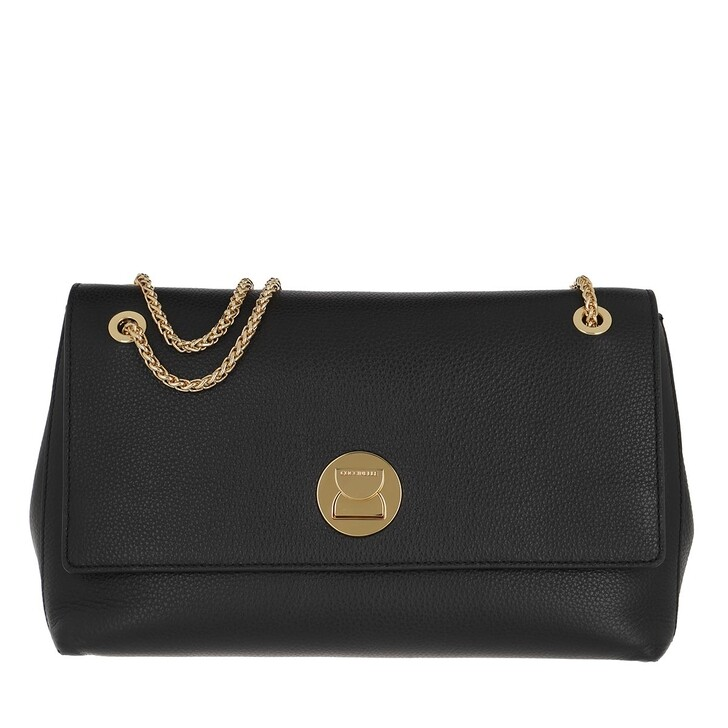 bags, Coccinelle, Liya Crossbody Bag Noir/Noir