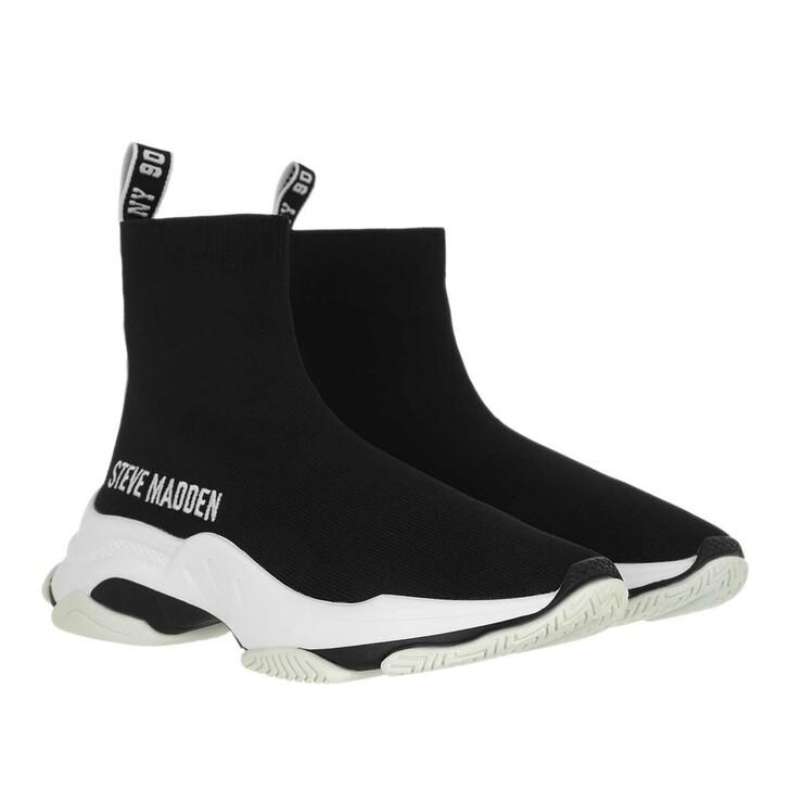 shoes, Steve Madden, Master Sneaker Fabric Black