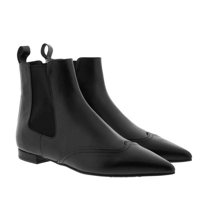 Schuh, Pretty Ballerinas, Kilian Boots Leather Negro