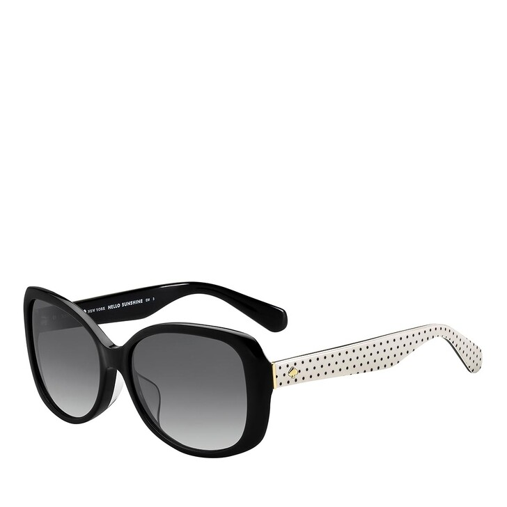 sunglasses, Kate Spade New York, AMBERLYN/F/S BLACK