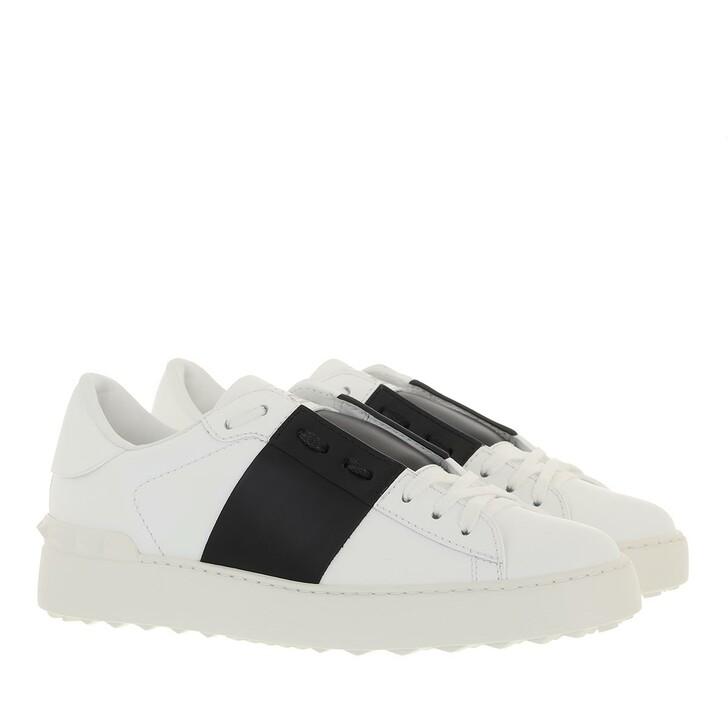 shoes, Valentino Garavani, Bicolor Rockstud Sneaker Black/White