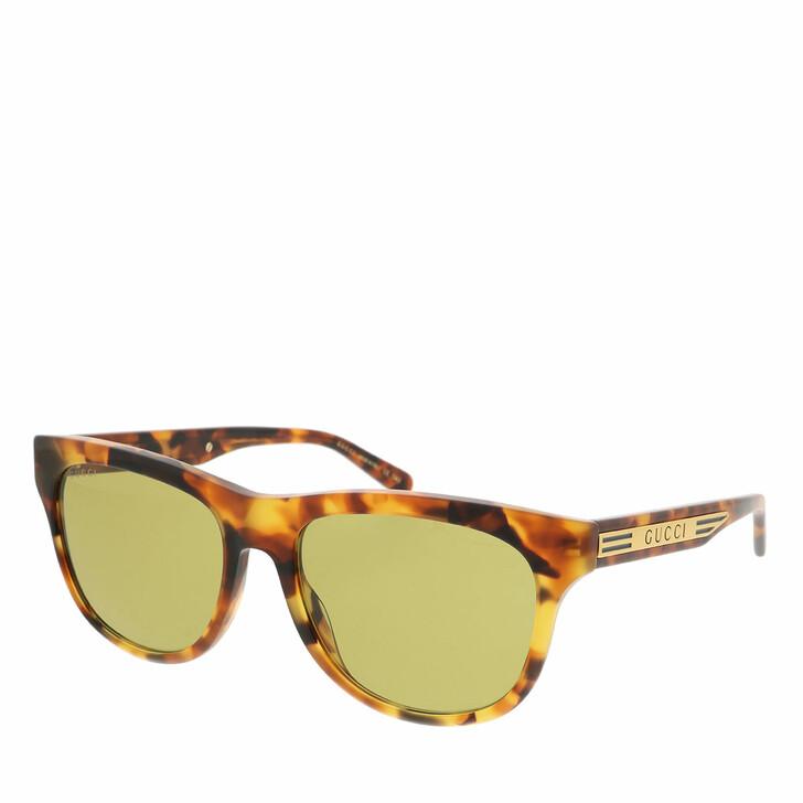 Sonnenbrille, Gucci, GG0980S-003 55 Sunglass MAN ACETATE HAVANA