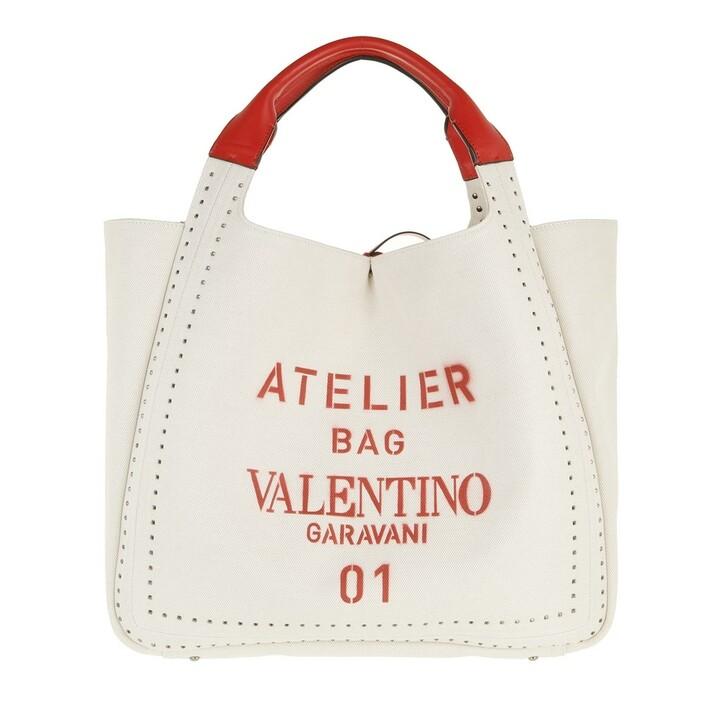 bags, Valentino Garavani, Atelier Tote Bag Natural