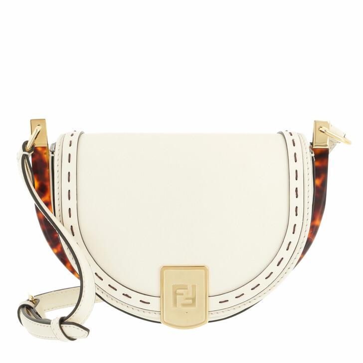 bags, Fendi, Moonlight Crossbody Bag White