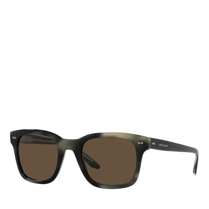 sunglasses, Giorgio Armani, 0AR8138 Striped Grey
