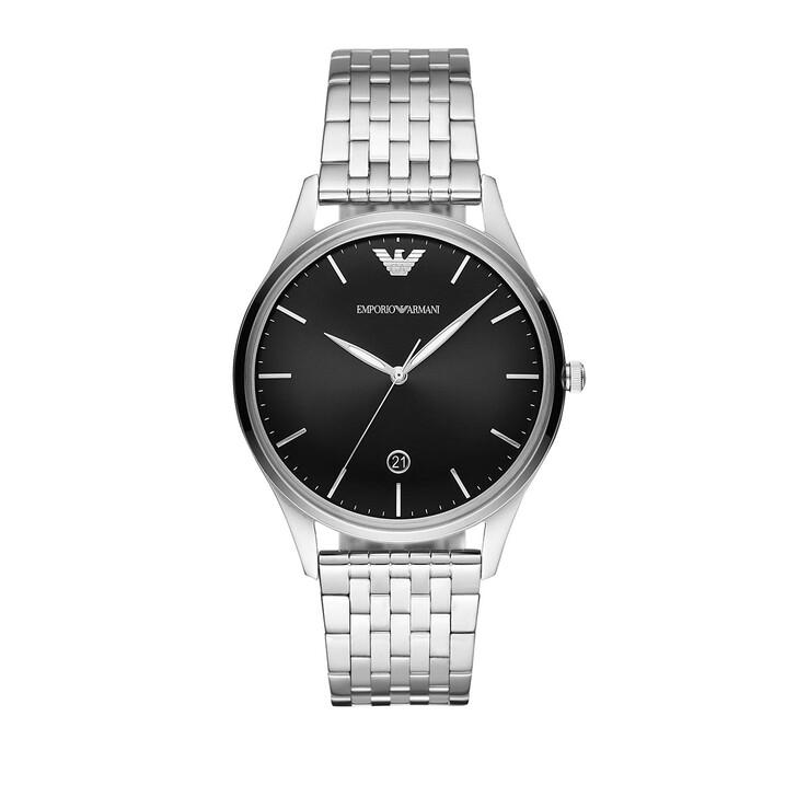 Uhr, Emporio Armani, Men Adriano Watch Silver