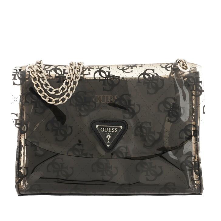 bags, Guess, Tash Convertible Crossbody Bag Black