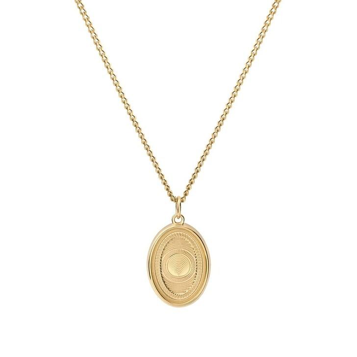 Kette, Miansai, Velocity Pendant Necklace Polished Gold