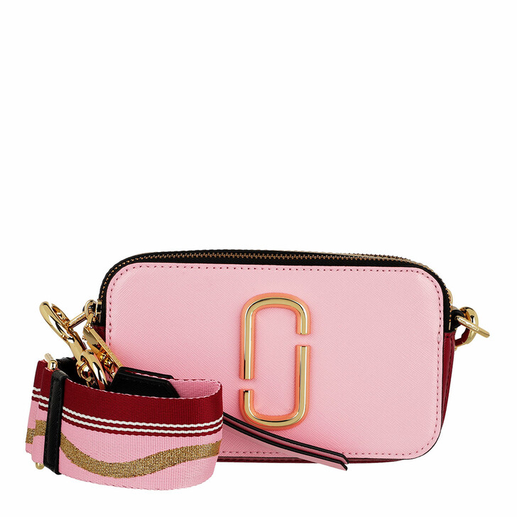 bags, Marc Jacobs, Snapshot Small Camera Bag New Pink/Red