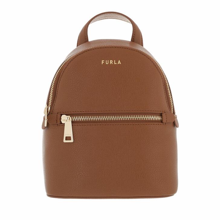 bags, Furla, Furla Libera Mini Backpack Cognac H