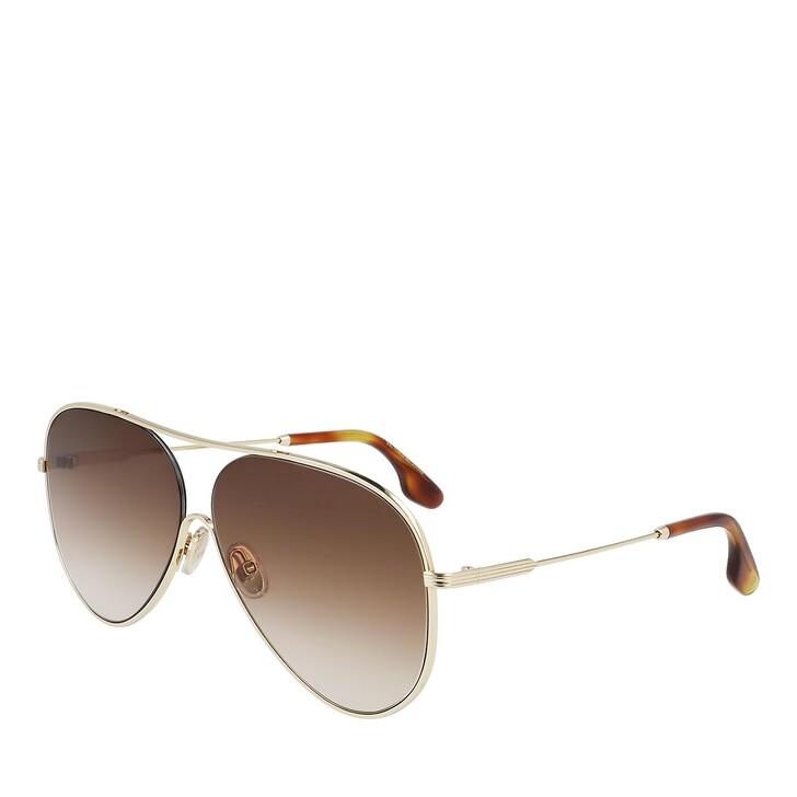 Sonnenbrille, Victoria Beckham, VB133S GOLD/BROWN