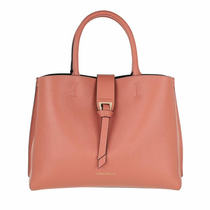 bags, Coccinelle, Alba Tote Bag Litchi
