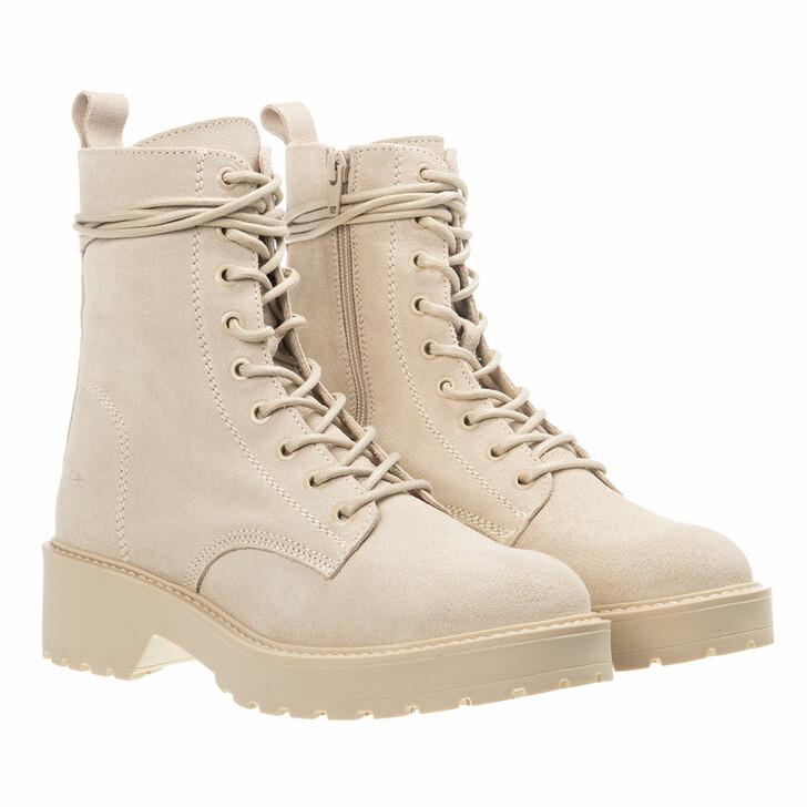 shoes, Steve Madden, Tornado Bootie Suede BEIGE