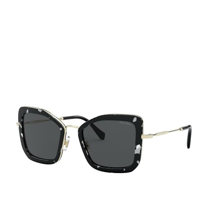 sunglasses, Miu Miu, Women Sunglasses Core Collection 0MU 55VS Havana Black White