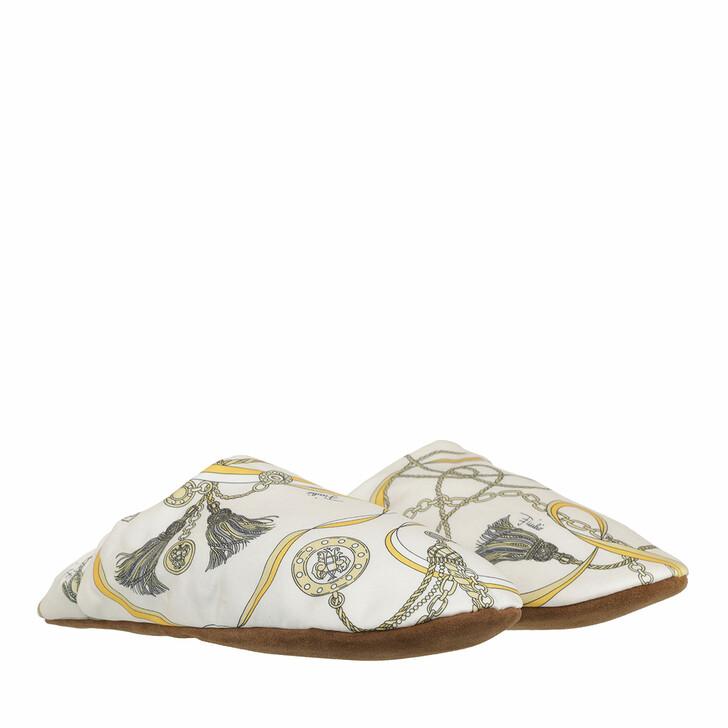shoes, Emilio Pucci, Slippers Giallo/Avorio