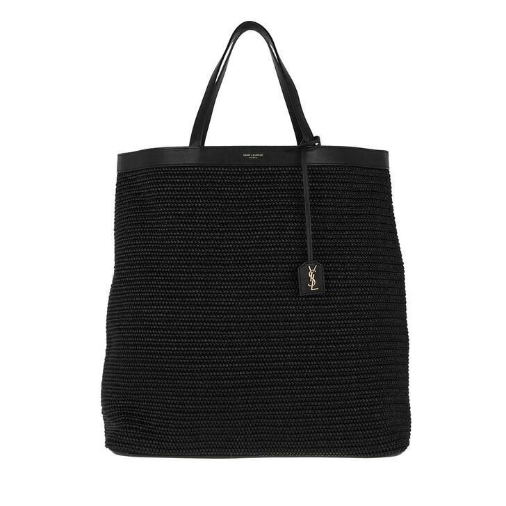 Handtasche, Saint Laurent, Patti Shopping Bag Medium Black