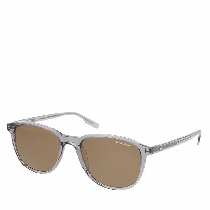 Sonnenbrille, Montblanc, MB0149S-004 54 Sunglass MAN ACETATE GREY