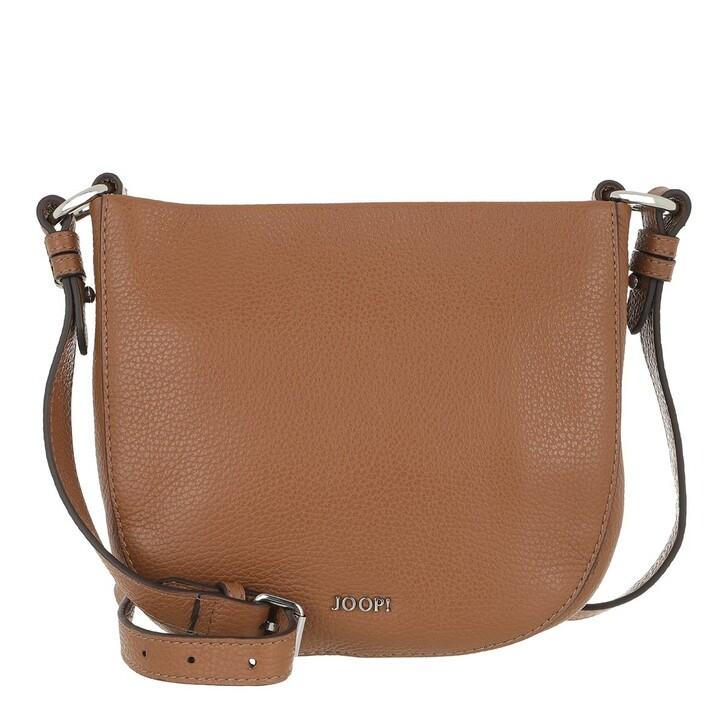 Handtasche, JOOP!, Chiara Casta Shoulder Bag Cognac