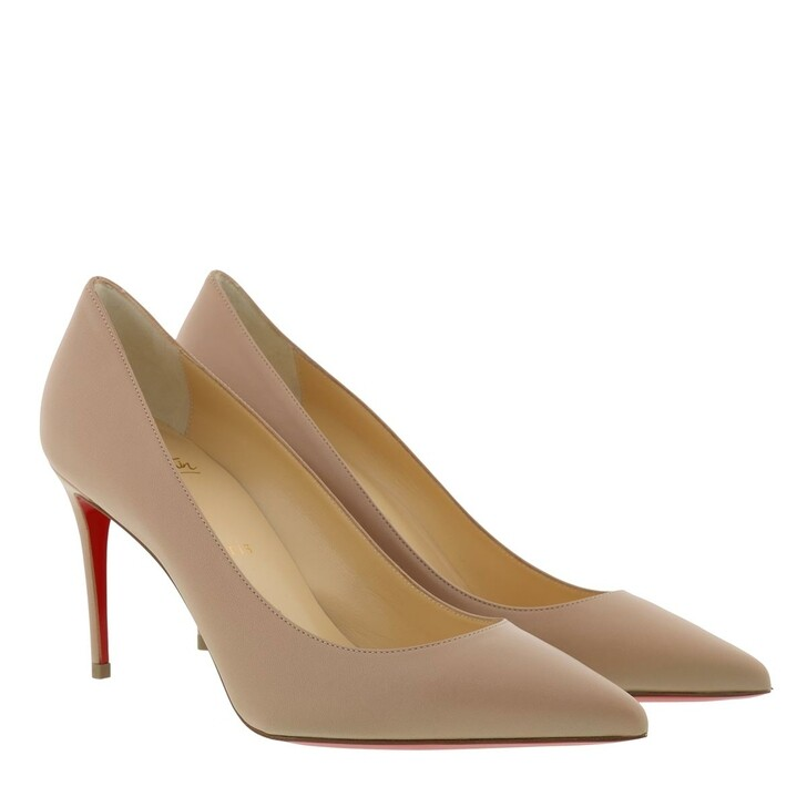 Schuh, Christian Louboutin, Kate Pumps 85 Leather Nude