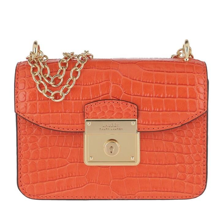 bags, Lauren Ralph Lauren, Beckett Mini Crossbody Bag Sailing Orange