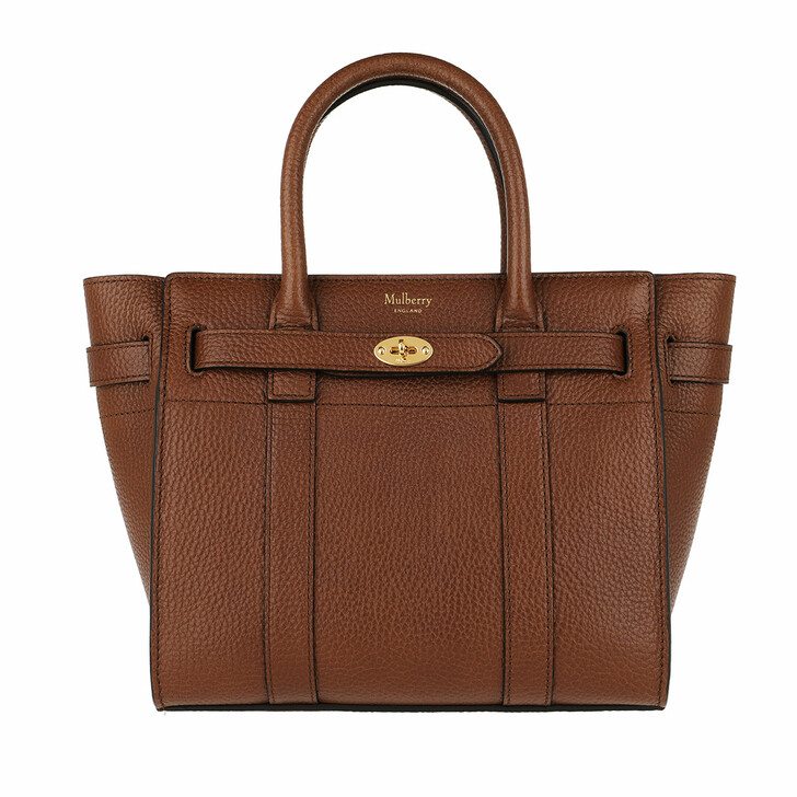 Handtasche, Mulberry, Zipped Bayswater Tote Mini Oak