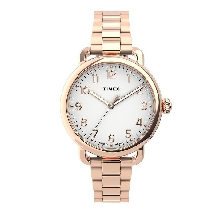 Uhr, Timex, Standard 34mm Rose Gold