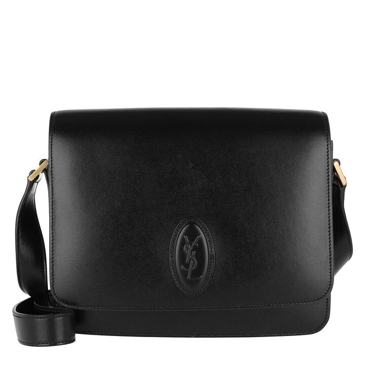 Handtasche, Saint Laurent, Le 61 Sattle Bag Medium Black