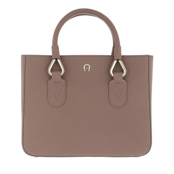 bags, AIGNER, Giada Handbag Mushroom Brown