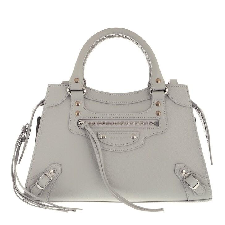 bags, Balenciaga, Neo Classic Top Handle Bag Leather Mink Grey