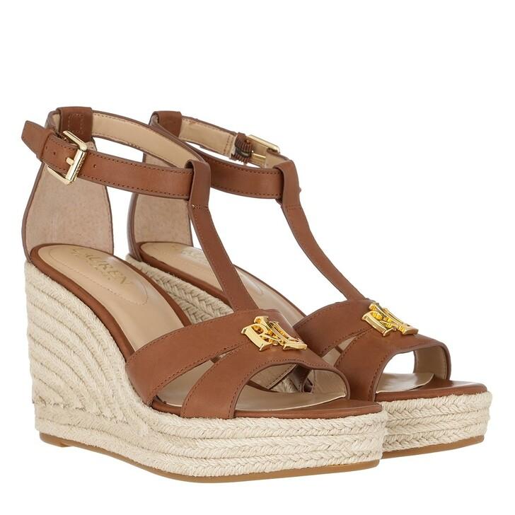 Schuh, Lauren Ralph Lauren, Hale Espadrilles Casual Deep Saddle Tan