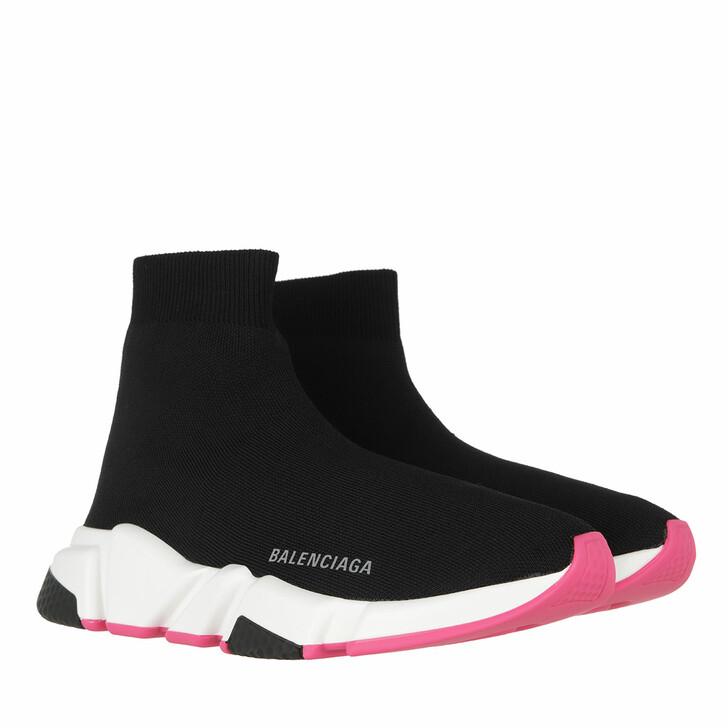 Schuh, Balenciaga, Speed LT Knit Sneaker Black/White/Pink