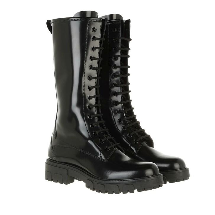 shoes, Hugo, Axel Mid Boot Black